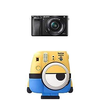 Sony Alpha 6000 Systemkamera inkl. SEL-P1650 Objektiv schwarz + Fujifilm Instax Mini 8 Minion Kamera (B07KFWWN3Q) | Amazon price tracker / tracking, Amazon price history charts, Amazon price watches, Amazon price drop alerts