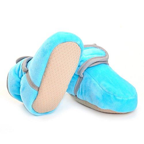 ESTAMICO, Stivaletti bambine Blu blu 6-12 mesi Blu
