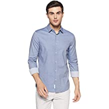 Calvin Klein Jeans Men's Striped Slim Fit Casual Shirt