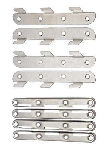 Edelstahl Möbelverbinder in 2 Längen (140mm)