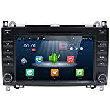 Android 7.1 Double Din Car Stereo per MERCEDES BENZ VIANO, YUNTX In Dash Autoradio con sistema di navigazione GPS, schermo capacitivo multi-touch da 8 pollici Car Audio