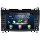 Estéreo para automóvil con Android 7.1, unidad principal 2 Din, 2G 16G Autoradio con navegación GPS para MERCEDES BENZ VIANO, audio de 8' con cámara trasera, Canbus