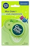 Glue Dots Doppelseitige Mini Klebepunkte, Dot N Go Kleberoller, 300 Punkte, Permanent, Rund, 5 mm, Vielseitige Verwendung, DIY Basteln, Karten Gestalten und Verzieren