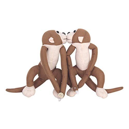 1 Paar Affe Curtain Tie Backs Kinder Zimmer Nursery Frech Spielen Monkey Vorhang binden zurück Raffhalter