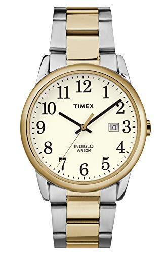 Timex Herren Analog Quartz Uhr Easy Reader