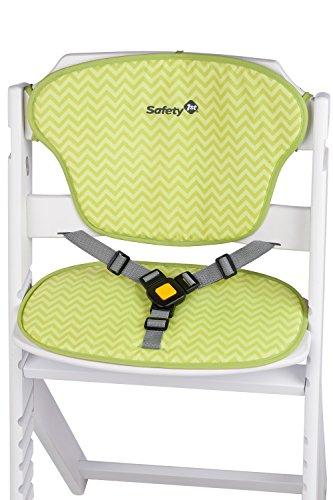 94f899177 ... Safety 1st Timba - Trona + cojín, color verde/blanco ...