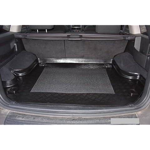 Vassoio bagagliaio con tappetino antiscivolo per Jeep