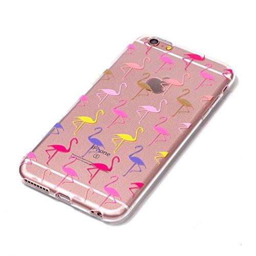 Cover iPhone 6/ 6s Plus, Sportfun morbido protettiva TPU Custodia Case in silicone per iPhone 6/ 6s Plus (modello 5) modello 6