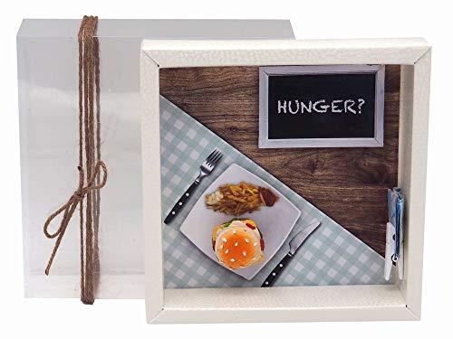ZauberDeko Geldgeschenk Verpackung Hamburger Essen Gutschein Geschenkgutschein Restaurant Gutschein Dinner-Geschenk