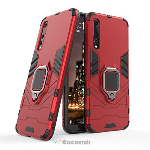 Red Pro Guard Case - Cocomii Black Panther Armor Huawei P20