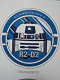 Camelot Fabrics 73010423X Stoff-Abzeichen, Star Wars R2-D2