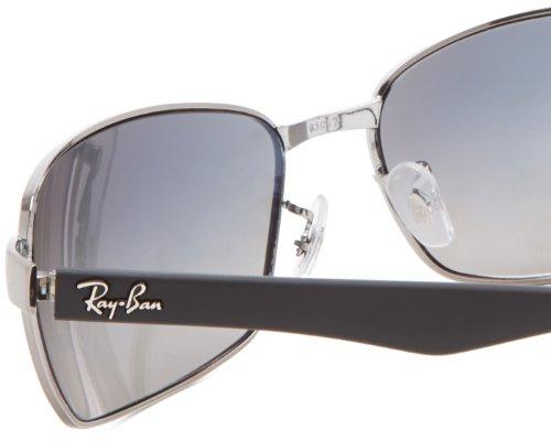 Ray Ban rb3478Lunettes de soleil 60mm Gris - Grau (004/78)