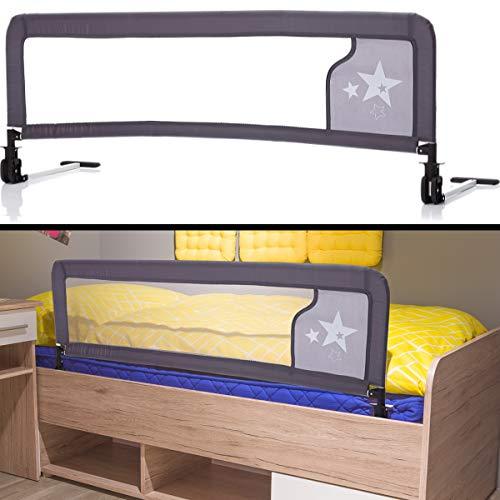 Bettschutzgitter EXTRA HOCH STERNE optimal für Boxspringbett/Bett Standard