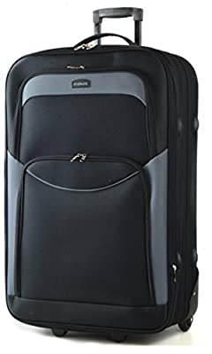 "Extra Large 32"" Expandable Lightweight Suitcases, Trolley Cases ..."