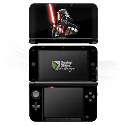 Preisvergleich Produktbild Nintendo 3 DS XL Case Skin Sticker aus Vinyl-Folie Aufkleber Star Wars Fanartikel Merchandise Darth Vader