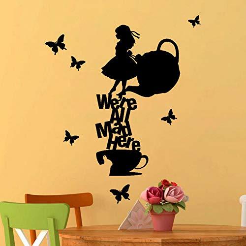 Yzybz Wandaufkleber Engel Zitate Aufkleber Für Kinderzimmer Mädchen Küche Kühlschrank Abnehmbare Art Vinyl Wandhaupt Room Decor