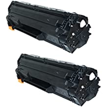 2 Compatible CRG 726 Laser Toner Cartridges for Canon LBP-6200D, LBP-6200DW, LBP-6230D, LBP-6230DW | 2,100 Pages