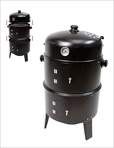 Dema Grill Smoker R�Ucherhofen-Watersmoker for grilling, smoking fish, meat,. etc.