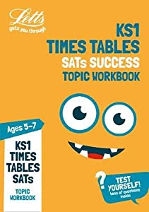Times Tables Ages 5-7 Topic Practice Workbook: 2019 tests (Letts KS1 Practice) by Letts