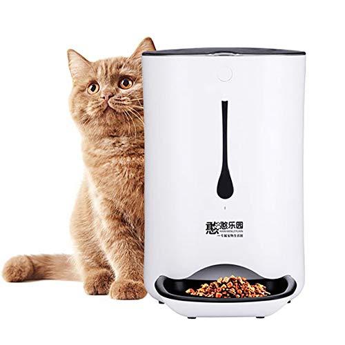 liscn Automatischer Kamera Futterspender,Haustier Futterautomat,Futter Und Wasserspender,Hund Schüssel,Automatik Für Hund Katze Im Set,jeweils 4.3 L