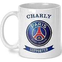 Tasse PSG personnalisé - Mug PSG - Mug PARIS SAINT GERMAIN - Mug Paris St Germain avec prénom - Foot Paris