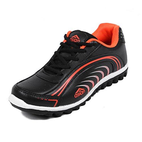 Asian Shoes WAVEBlack Orange Women's Shoe