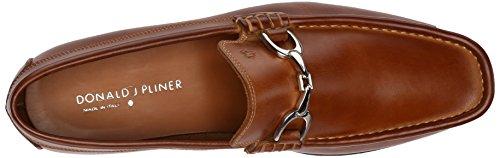 Donald J Pliner Darrin-K Rund Leder Slipper Saddle