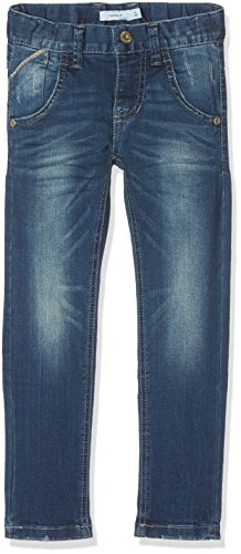 NAME IT Jungen Jeans Nittasmania Slim/XSL DNM Pant NMT Noos, Blau (Dark Blue Denim), 164