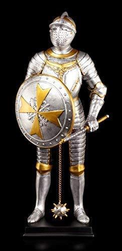 Ritter Figur - Malteser mit Morgenstern | Ritterrüstung Veronese -