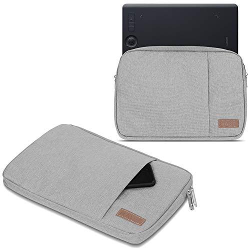 UC-Express Grafiktablett Tasche für Wacom Intuos Pro S/M PTH-660 PTH-650 Hülle Schutzhülle Schwarz/Grau Case, Farbe:Grau, Tablet Modell für:Wacom Intuos Pro M