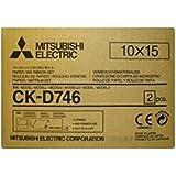 "Mitsubishi Electric CK-D746 - Papel fotográfico (Color blanco, 4"" x 6"", 102 x 152 mm)"