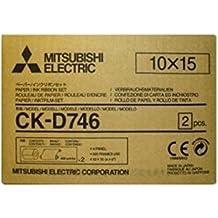 """Mitsubishi Electric CK-D746 Color blanco - Papel fotográfico (Color blanco, 4"""" x 6"""", 800 hojas, 102 x 152 mm)"""