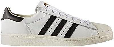 Zapatillas adidas - Superstar blanco/negro/dorado talla: 40-2/3