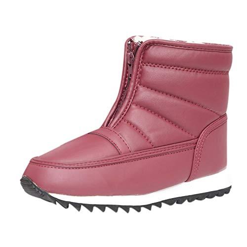Odjoy-fan-signorina autunno e inverno cerniera antiscivolo stivali da neve scarpe madre scarpe stivaletti alti sandali sneakers giardini gioiello sposa estivi neri mocassini con tacco