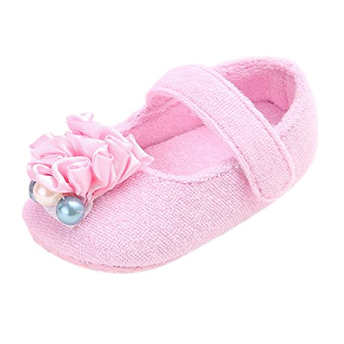 leap frog  Pearl Mary Jane, Baby Mädchen Lauflernschuhe Rose