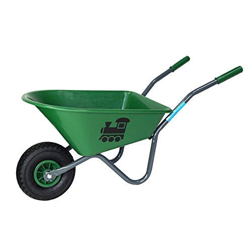 Baumarktplus Kinderschubkarre mit Motiv Schiebkarre Metallschubkarre Gartenkarre