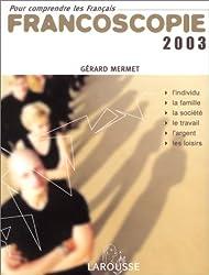 Francoscopie 2003