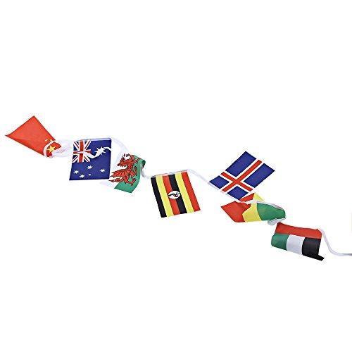 LIUYUNE,Internationale Flag-Bar mit Banner für Olympische Spiele(Color:COLORMIX)