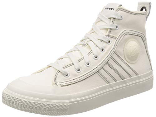 Diesel s-astico mid lace sneakers uomini bianco - 43 - sneakers alte