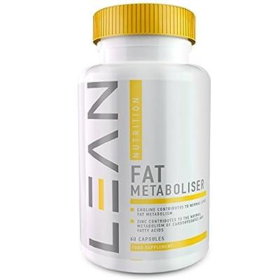 LEAN Nutrition Fat Metaboliser - Best Fat Burner For Weight Loss - Strong Slimming Pills & Diet Pills