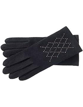 Roeckl Damen Handschuhe Cut & Sewn silver rhomb, Einfarbig