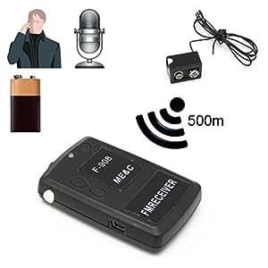 Yonis - Mini Micro Espion Talkie Walkie Écoute À Distance Gratuite - Noir