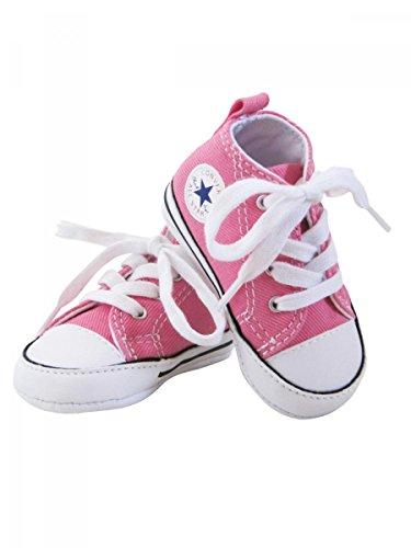 Converse, Mädchen Babyschuhe - Krabbelschuhe & Puschen, Pink - rosa - Größe: 3 UK (3 Größe Converse Kinder)