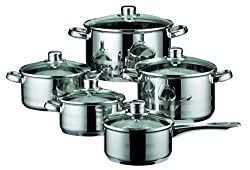 ELO Skyline pot set 10-parts, stainless steel