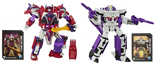 Transformers Generations Titans Return Voyager Wave 1 Set of 2 by TRA