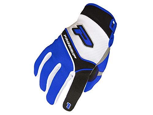 Handschuhe ProGrip MX 4010 weiß-blau Größe M