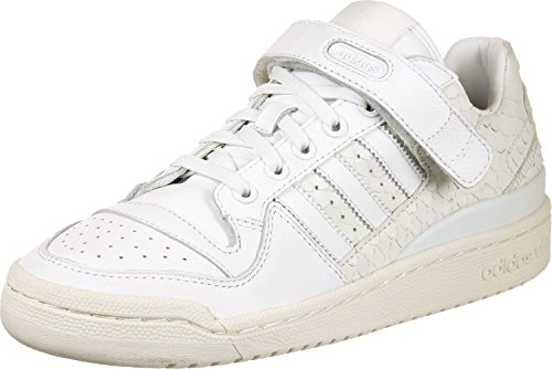 adidas Damen Forum Low Gymnastikschuhe, Elfenbein (Ftwr White/Ftwr White/Chalkwhite), 38 2/3 EU (Adidas Schuhe Forum)