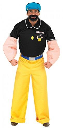 Orginal Kostüm Brutus Brutuskostüm Popeye Gr. STD, XL, Größe:XL (Popeye Kostüme Arme)