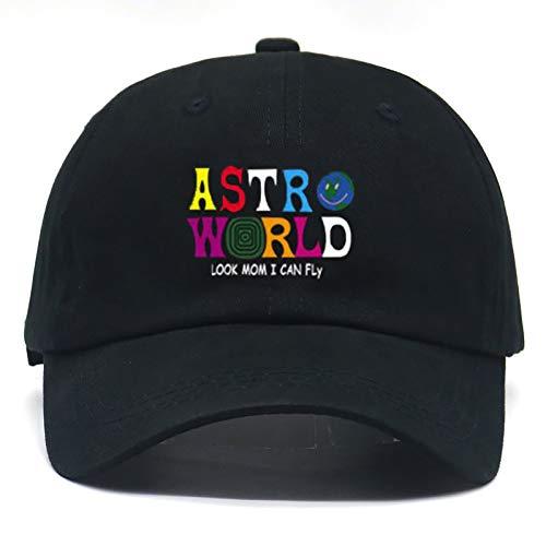 JKYJYJ Mode Travis Scott Astroworld Hut Bestickt Tour Ich Ging Zu Astroworld Album Baseball Cap Baumwolle Verstellbare Hip Hop Papa Hut -