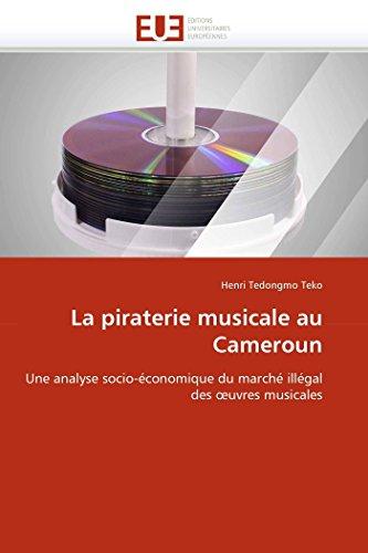 La piraterie musicale au cameroun